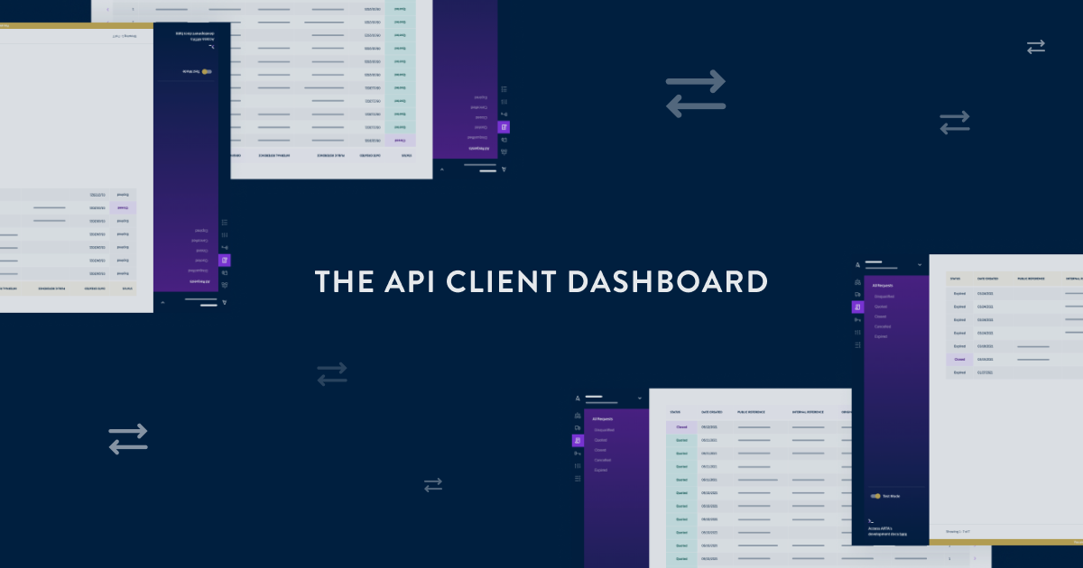 Introducing the API Client Dashboard