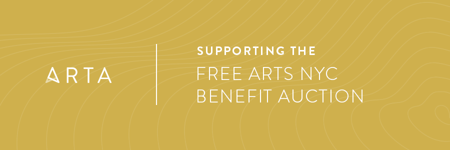 Our Support of the Free Arts NYC Benefit Auction