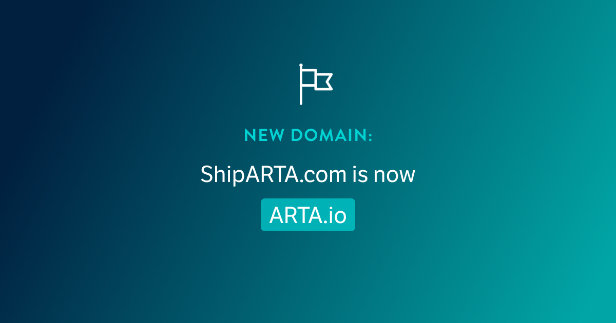 You Can Now Find Us At ARTA.io!